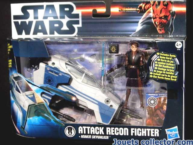 ATTACK RECON FIGHTER & Anakin