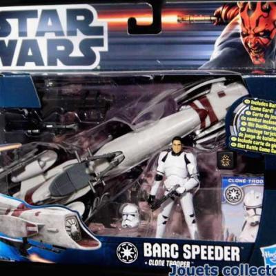 BARC SPEEDER & Clone Trooper