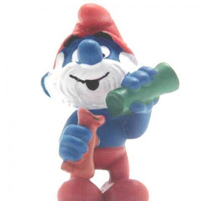 PAPA SMURF and the potion