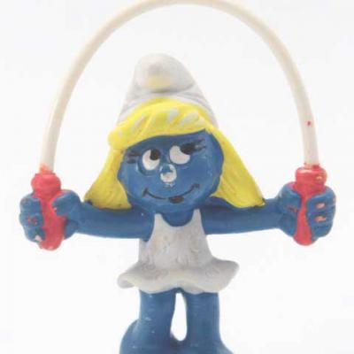 SMURFETTE jump to the rope
