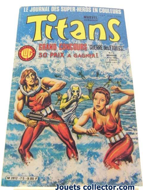TITANS N°75