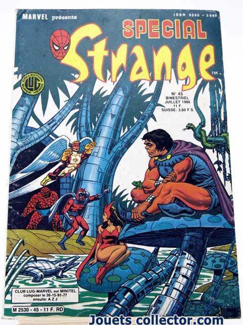 SPECIAL STRANGE N°45