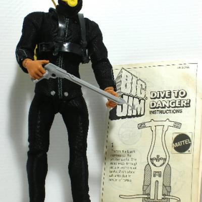 BIG JIM Dive To Danger