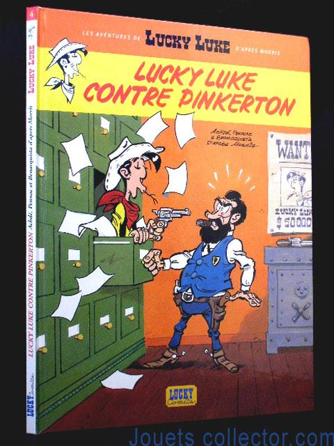 LUCKY LUKE Contre PINKERTON