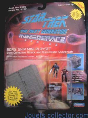 BORG Ship mini playset