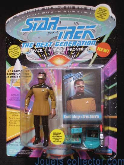Lt. Commander Geordi LA FORGE in Dress Uniform
