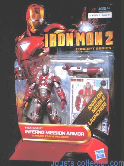 IRON MAN Inferno Mission Armor