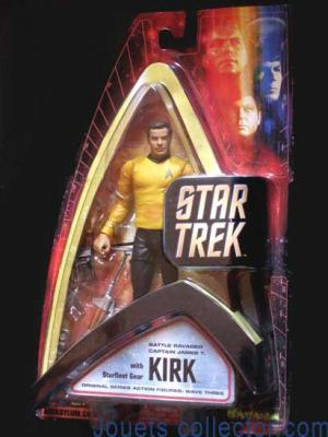 Captain JAMES T. KIRK Battle ravaged