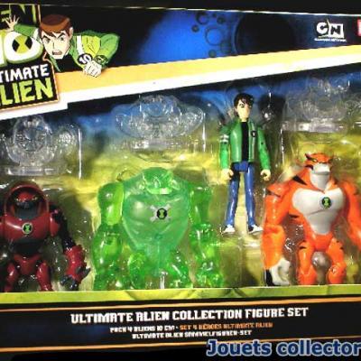 BEN 10 pack 4 Aliens