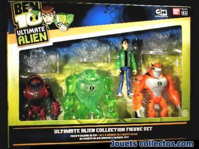 BEN 10 Ultimate Alien set