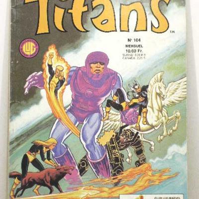 TITANS #104