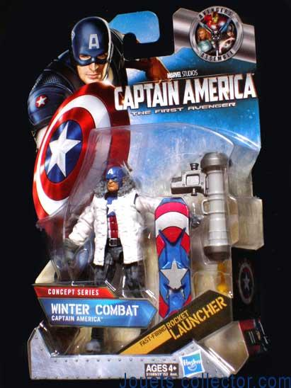 CAPTAIN AMERICA Combat hivernal