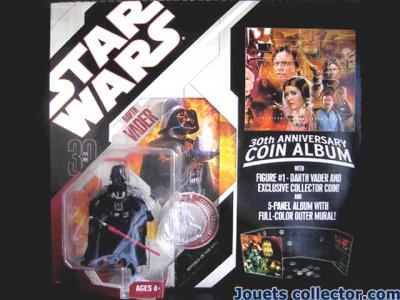 DARTH VADER and Collector Coin Album