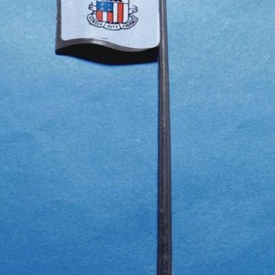 Flag post of U.S.S FLAGG