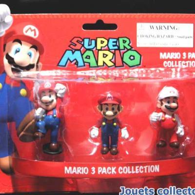 SUPER MARIO 3 Pack