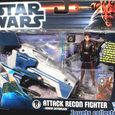 ATTACK RECON FIGHTER & Anakin