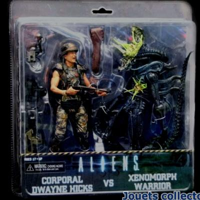 Caporal HICKS Vs XENOMORPH WARRIOR