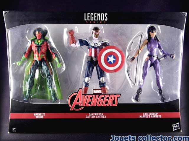 3 packs TRU Exclusive AVENGERS