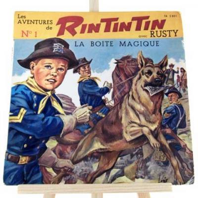 Les Aventures de RIN TIN TIN avec RUSTY N°1