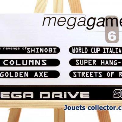 Livret de la cartouche Mega games 6