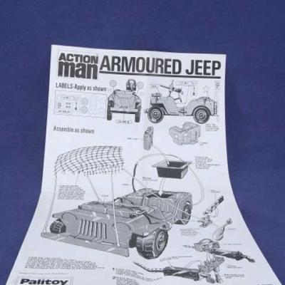 Notice v.o pour ARMOURED JEEP