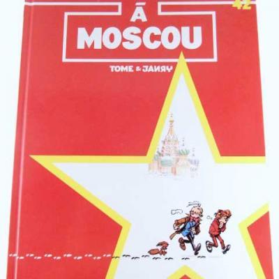 SPIROU A MOSCOU
