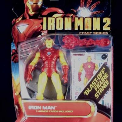 IRON MAN Blast-Off