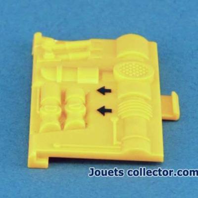 Battery door for RUMBLER
