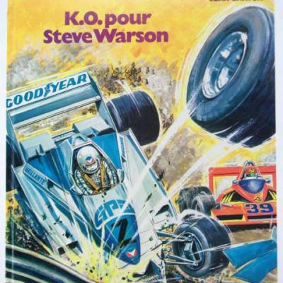 K.O pour STEVE WARSON