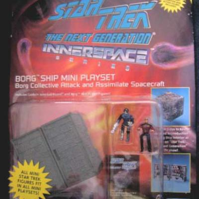 BORG Ship mini playset