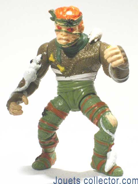 Figurine lestortues ninja roi des rats sur jouetscollector - Le rat des tortue ninja ...