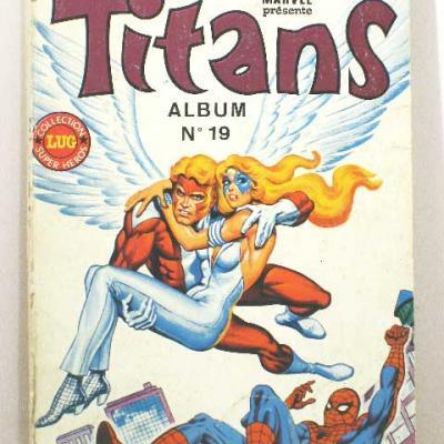 Album TITANS N°19