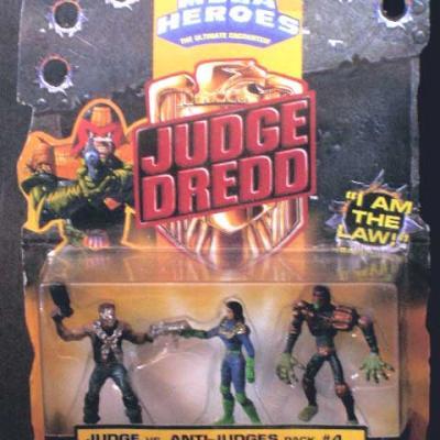 JUDGE vs. ANTI-JUDGES