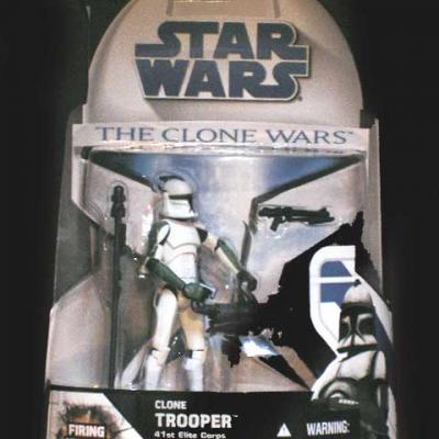 Clone TROOPER 41St Elite Corps